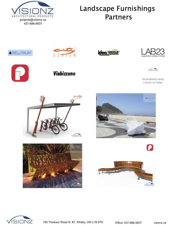 Landscape Furnishings - Line Card